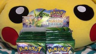 Pokemon Roaring Skiez Booster Pack Opening (2) {WIN CODE CARDS}