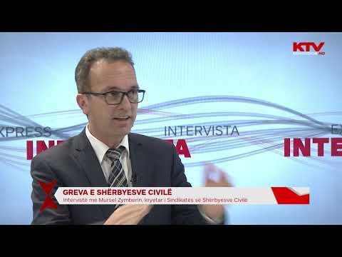 Mursel Zymberi - Greva E Sherbyesve Civile 29 01 2019