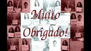 Gratidão e encorajamento aos profissionais da Saúde de São Carlos e Região.