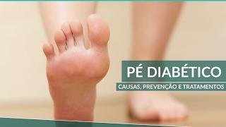 Casa dor em do diabético tratar como pé a