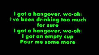 Hangover- Taio Cruz feat. Flo Rida LETRA