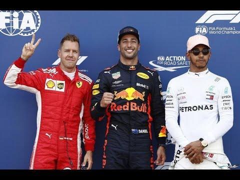 F1 2018, GP.DE MONACO, POLE Y CLASIFICACION.RESUMEN PODCAST.RICCIARDO DE  RECORD..