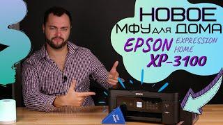 Новое МФУ Epson XP-3100 для дома   Обзор с Андреем