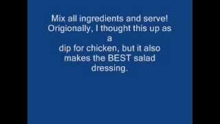 How To Make Honey Mustard Healthy Salad Dressing