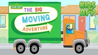 The Big Moving Adventure (Sesame Street) - Best App For Kids