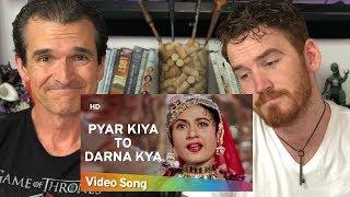 Pyar Kiya To Darna Kya | Madhubala | Dilip Kumar | Mughal E Azam | American REACTION!