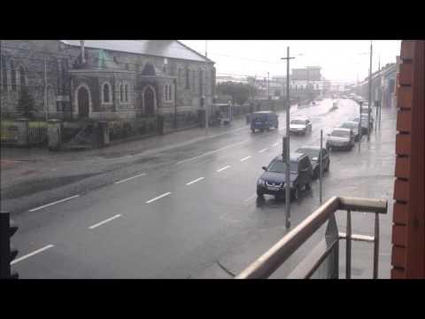 Inchicore Dublin 8 Ireland Downpour 28 07 2013