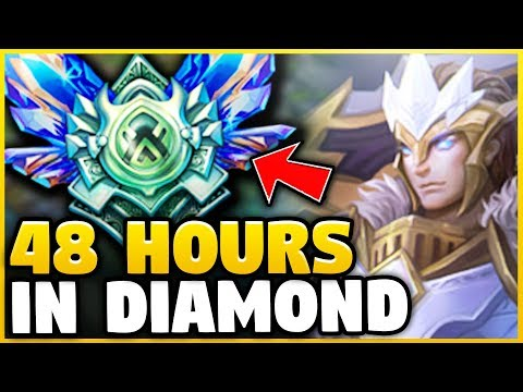 I PLAYED GAREN IN DIAMOND NONSTOP FOR 48 HOURS! HERE'S WHAT HAPPENED... - League of Legends