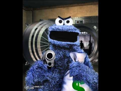 the TRUE story of evil cookie monster - YouTube