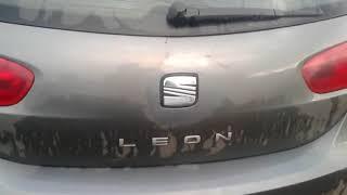 Ремонт кнопки відкриття багажника сеат леон.