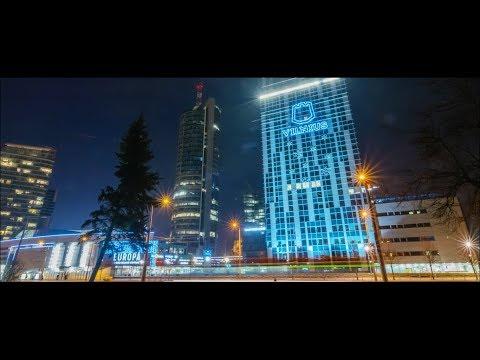 Vilnius Hyperlapse 2018