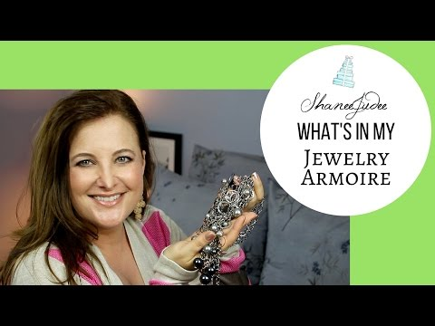 What's In My Jewelry Armoire? | ShaneeJudee