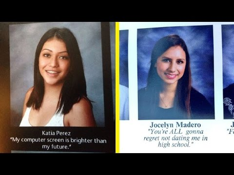 Hilarious Yearbook Quotes That will make you laugh