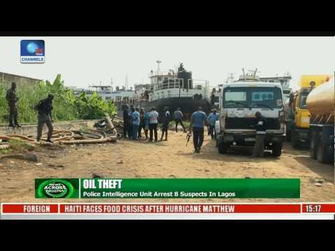 News Across Nigeria: Police Impound Two Vessels, 21 Trucks In Lagos