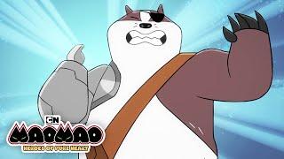 All of Badgerclops' Robo-Arm Features   Mao Mao   Cartoon Network