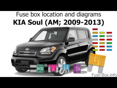 Fuse box location and diagrams: KIA Soul (AM; 2009-2013) - YouTubeYouTube