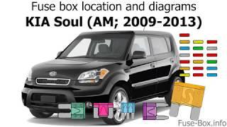 Fuse Box Location And Diagrams Kia Soul Am 2009 2013 Youtube