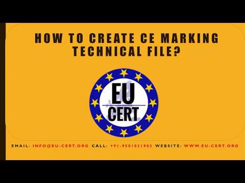 How to Create CE Marking Technical File?