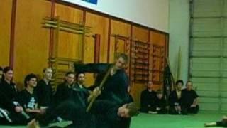 Kashiwa Bujinkan Ninjutsu- Training Showreel