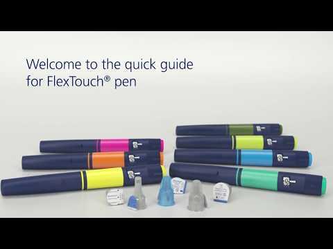 FlexTouch® Insulin Pen Quick Guide - Zinc: HQMMA/DV/0417/0027