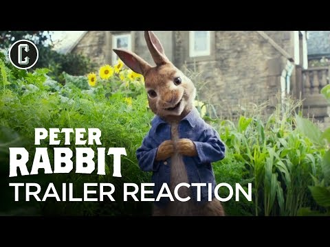 Peter Rabbit Trailer #1 Reaction & Review