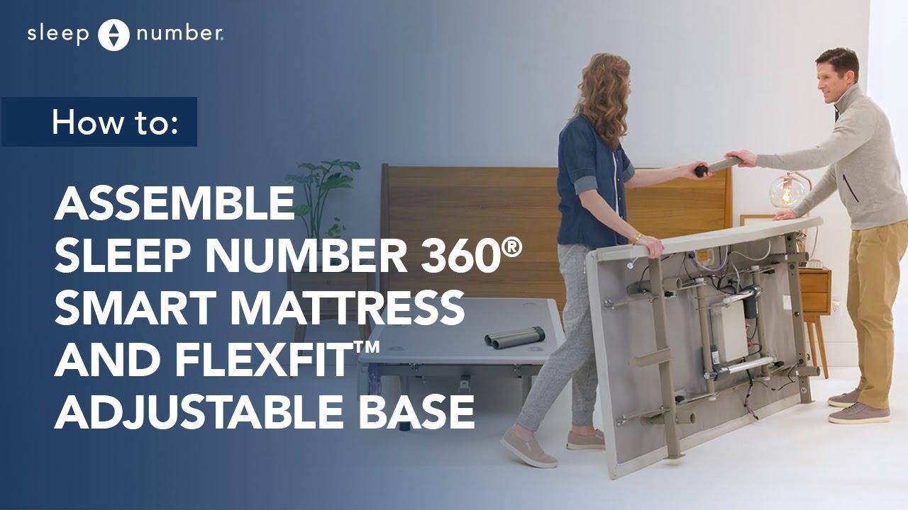Sleep Number 360 174 Smart Flexfit Adjustable Base Assembly Youtube
