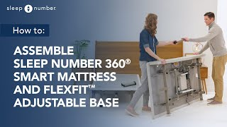 Sleep Number 360® Smart Flexfit™ Adjustable Base Assembly