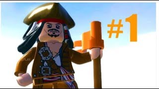 Lego pirates of the Caribbean #1 (walkthrough) Xbox one  (curse of the black pearl)