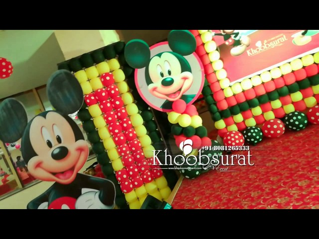 mickey mouse theme party by khoobsurat event 8081265333