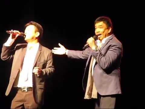 Rico Puno and Hajji Alejandro at OPM Concert in Toronto