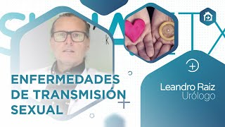 Charla sobre #EnfermedadesTransmisionSexual #ETS del Dr. Leandro Raiz (Urología)