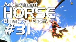 Halo: Reach - Achievement HORSE #31 (Geoff vs. Burnie Burns) | Rooster Teeth