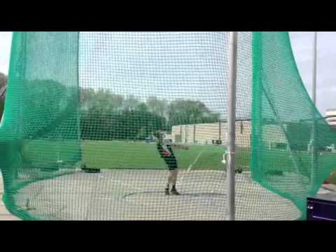 Justin Welch Hammer Throw 72.93
