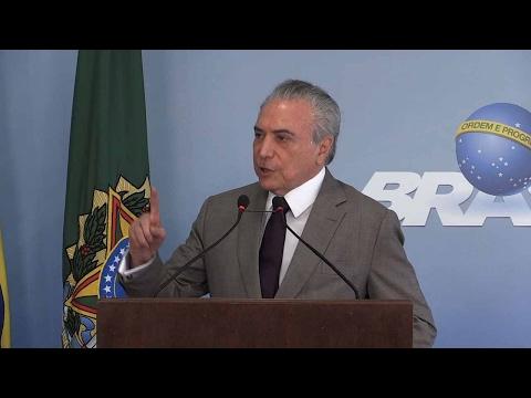 Brazil's Temer denies interference in corruption probe