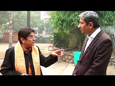 NDTV's Ravish Kumar interviews BJP's chief ministerial candidate Kiran Bedi