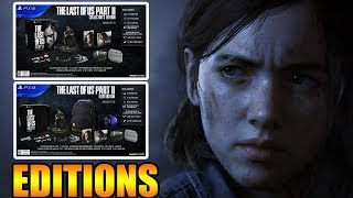 The Last Of Us Part 2 - Special Edition, Collectors Edition, And Ellie Edition A