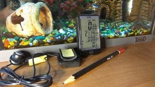 Мини компьютер для велосипеда SD576A. Спидометр, одометр, термометр и т.п.