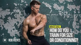 Bicep Mass Builders Vs. Conditioning Exercises