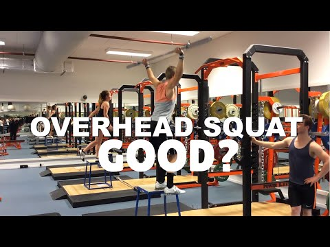 Overhead Squat Benefits: What Is The Overhead Squat Good For? Overhead Squat Tips