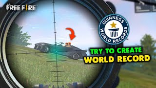 Try to Create New Most Kill World Record in Solo vs Squad Gameplay - Garena Free Fire