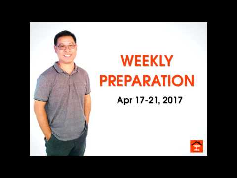 Forex สอน เทรด : 053 - Trading Plan Apr 17-21 ,2017