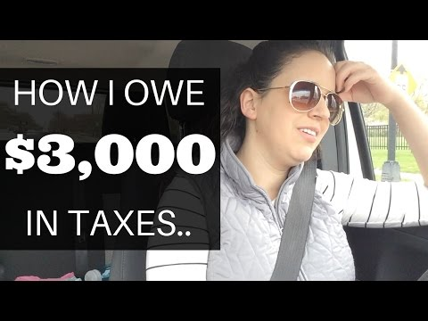taxes---how-i-owe-$3,000-this-year..-|-how-to-save-money-correctly