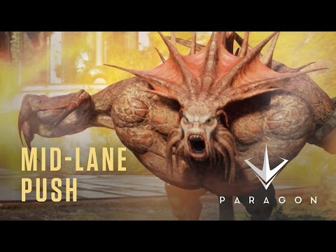 Paragon - Mid-Lane Push - New Heroes Gameplay Video
