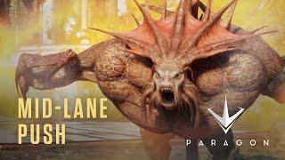 Paragon - Mid-Lane Push - New Heroes Gameplay Video