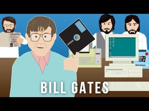 Bill Gates co-founder of Microsoft (1955 -)