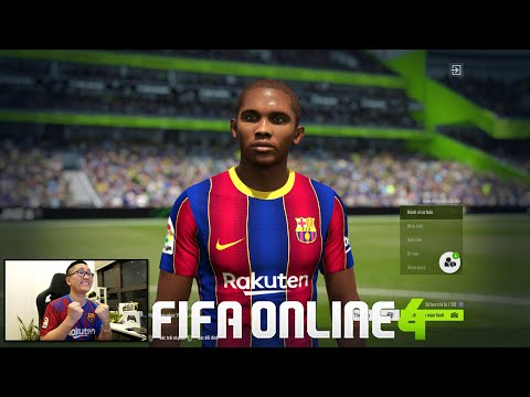 FIFA ONLINE 4: Quẩy Rank Cùng BÁO ĐEN Samuel Eto'o ICON & Đi Chợ Xây Team MAX BING   12-08-2021