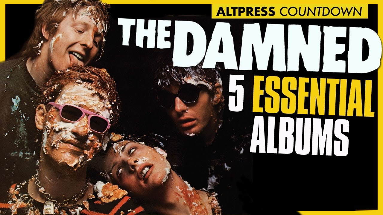 THE DAMNED: 5 Albums That Embody The Damned's Punk Rock Magnificence