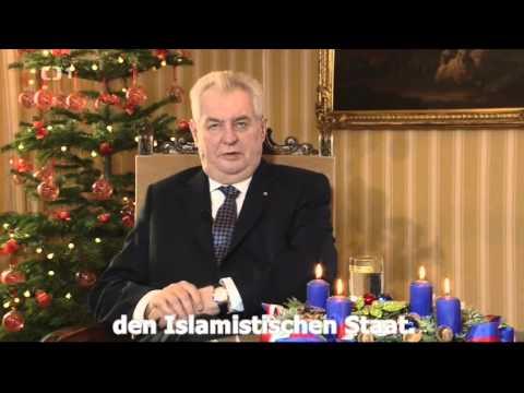 Weihnachtsbotschaft des Präsidenten der Tschechischen Republik Milos Zeman 2015
