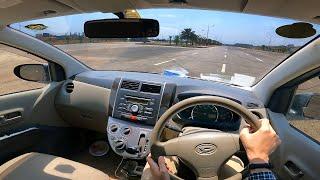 Daihatsu Mira/Cuore 2007-2011 | POV Drive Impressions in Islamabad