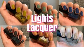 Download LIGHTS LACQUER GRL POWER COLLECTION OVERVIEW AND NAIL SWATCHES Mp3 and Videos